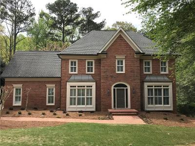 Sandy Springs Single Family Home For Sale: 430 Waterridge Court