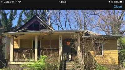 Atlanta Single Family Home For Sale: 1095 Sims Street SW