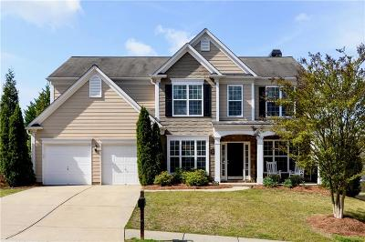 Suwanee Single Family Home For Sale: 485 Hammersmith Drive