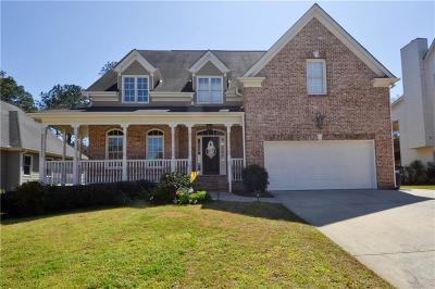 Grayson Single Family Home For Sale: 1672 Sweet Branch Trail