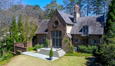 Atlanta GA Single Family Home For Sale: $2,695,000