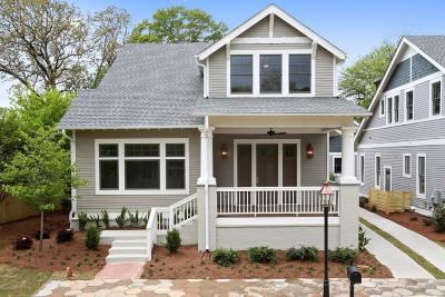 Inman Park Single Family Home For Sale: 200 Haralson Lane