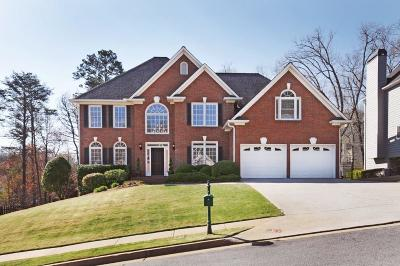 Marietta GA Single Family Home For Sale: $535,000