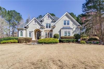Alpharetta Single Family Home For Sale: 550 Champions Hills Drive