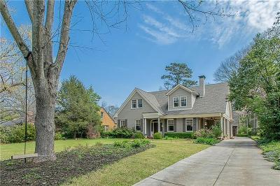 Druid Hills Single Family Home For Sale: 561 Ridgecrest Road NE
