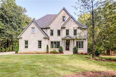 Sandy Springs Single Family Home For Sale: 765 Old Post Road
