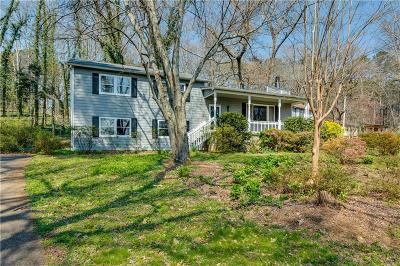 Single Family Home For Sale: 931 Hickory View Court NW