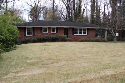 Marietta Single Family Home For Sale: 357 Polk Street NW