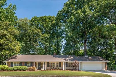 Single Family Home For Sale: 180 Little John Trail NE
