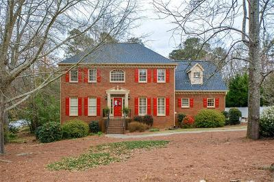 Snellville Single Family Home For Sale: 3645 Windlake Drive