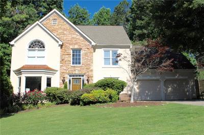 Acworth Single Family Home For Sale: 1487 Fallsbrook Court