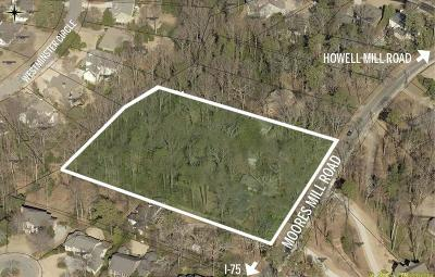 Residential Lots & Land For Sale: 1101 Moores Mill Road NW