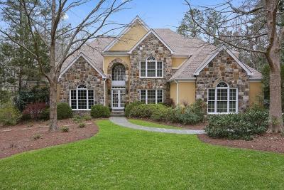 Milton Single Family Home For Sale: 1030 Treyburn Run