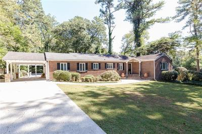 Pine Hills Single Family Home For Sale: 2905 W Roxboro Road NE
