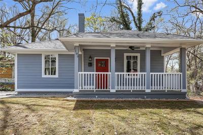 Atlanta Single Family Home For Sale: 1100 White Oak Avenue SW