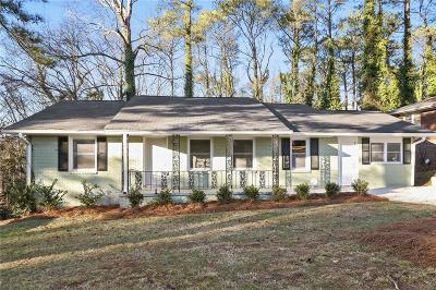 Atlanta Single Family Home For Sale: 1756 Boulderview Drive SE