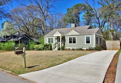 East Atlanta Single Family Home For Sale: 1214 Beechview Drive SE