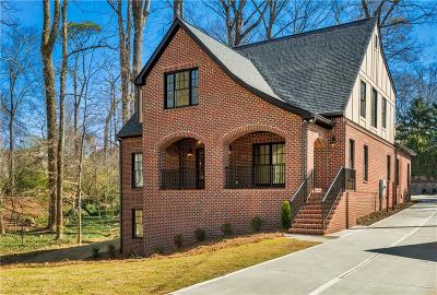 Druid Hills Single Family Home For Sale: 1907 Ridgewood Drive NE