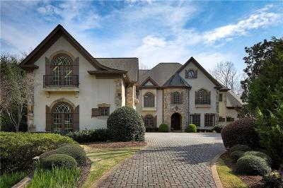 Alpharetta GA Single Family Home For Sale: $2,750,000