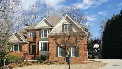 Peachtree Corners Single Family Home For Sale: 3405 Grove Park Drive