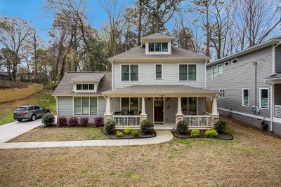 East Atlanta Single Family Home For Sale: 1645 Jobeth Avenue SE