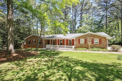 Dunwoody Single Family Home For Sale: 4955 Conover Drive