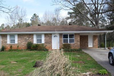 Buford Single Family Home For Sale: 3064 S Waterworks Road