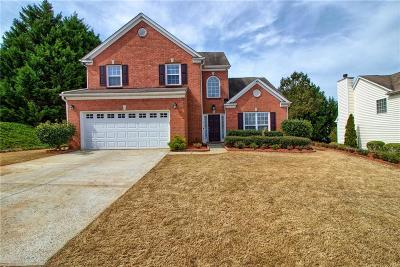 Lawrenceville Single Family Home For Sale: 445 Lazy Willow Lane