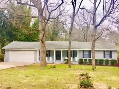 Lithonia Single Family Home For Sale: 7508 Lowilla Lane