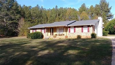 Stockbridge Single Family Home For Sale: 4121 E Fairview Road SW