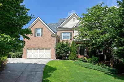 Acworth Single Family Home For Sale: 6052 Kenbrook Circle NW