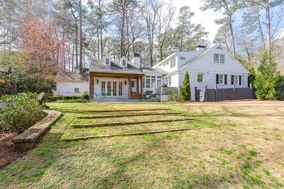 Chastain Park Single Family Home For Sale: 490 Hillside Drive NW