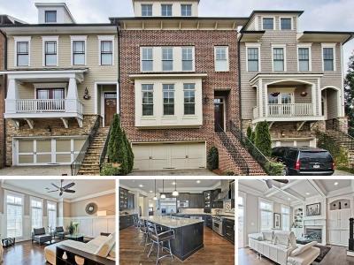 Smyrna Condo/Townhouse For Sale: 2120 W Village Crossing SE