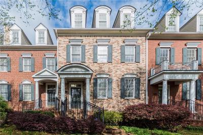 Atlanta Condo/Townhouse For Sale: 4626 Ivygate Circle SE