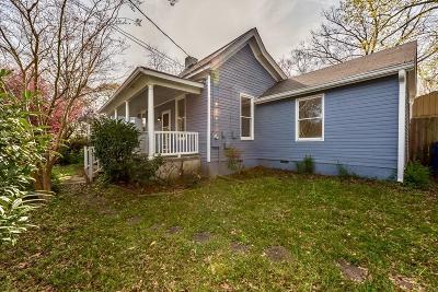 East Atlanta Single Family Home For Sale: 1281 Oak Grove Avenue SE