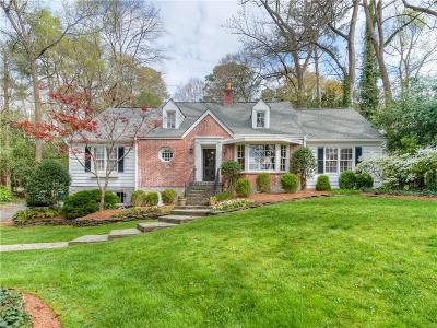Chastain Park Single Family Home For Sale: 319 Hillside Drive NW