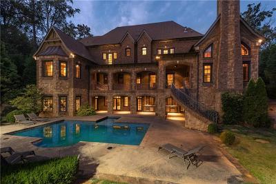 Atlanta GA Single Family Home For Sale: $3,800,000