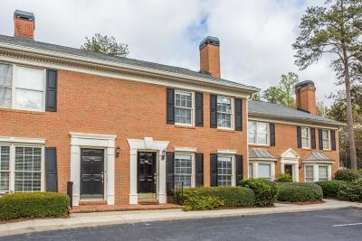 Sandy Springs Condo/Townhouse For Sale: 124 Mount Vernon Circle