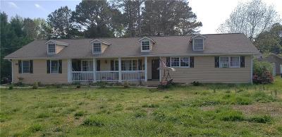Lilburn Single Family Home For Sale: 845 Garner Road SW