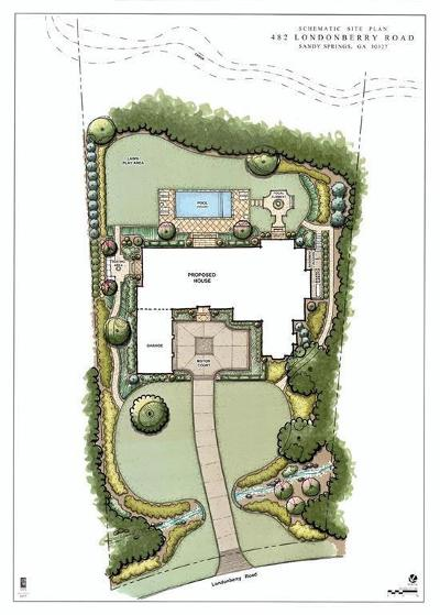 Sandy Springs Residential Lots & Land For Sale: 482 Londonberry Road