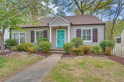 Peachtree Hills Single Family Home For Sale: 2427 Shenandoah Avenue NE