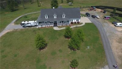 Bartow County Single Family Home For Sale: 2500 Euharlee Road SE