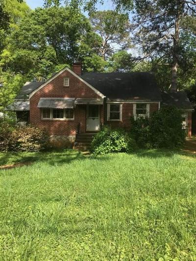 Decatur Single Family Home For Sale: 1022 S McDonough Street