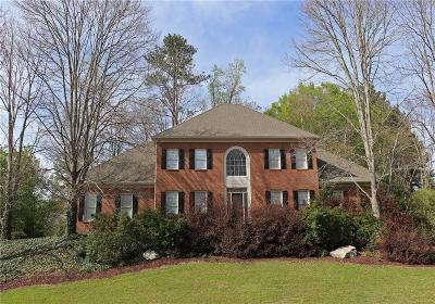 Peachtree Corners, Norcross Single Family Home For Sale: 6031 Rachel Ridge