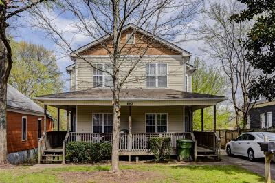 Grant Park Multi Family Home For Sale: 660 Bryan Street SE