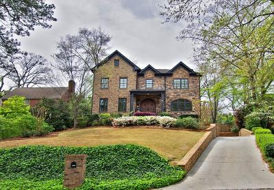 Atlanta GA Single Family Home For Sale: $1,985,000