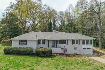 Single Family Home For Sale: 983 Chattahoochee Drive