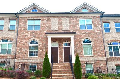 Sandy Springs Condo/Townhouse For Sale: 7425 Glisten Avenue #151