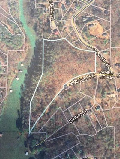 Barrow County, Forsyth County, Gwinnett County, Hall County, Newton County, Walton County Single Family Home For Sale: 3820 James Ed Road