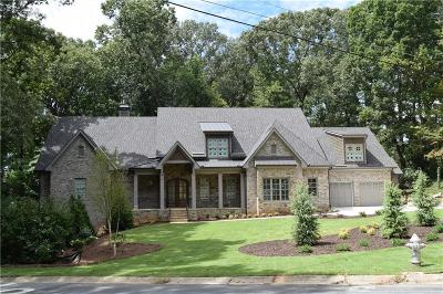 Marietta GA Single Family Home For Sale: $1,980,000